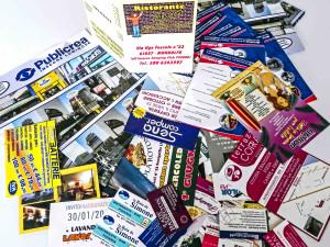 Publicrea - volantini e biglietti da visita