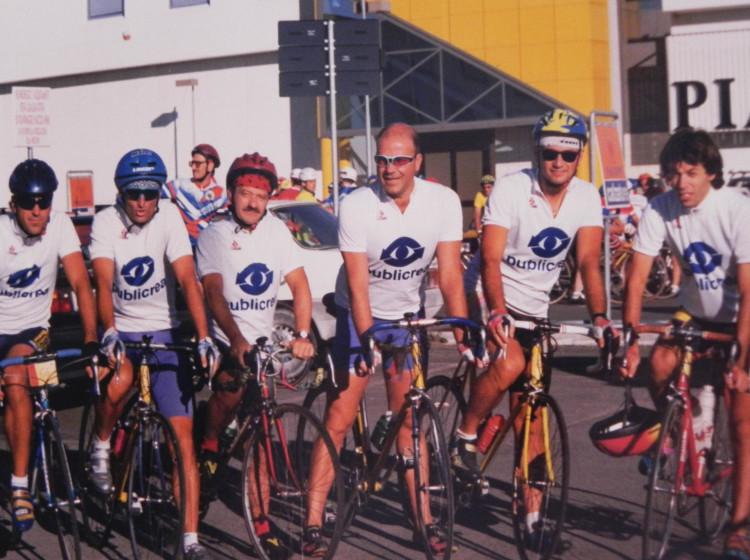 Publicrea - sponsor gruppo ciclistico
